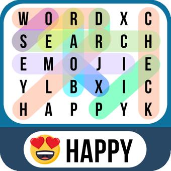 词搜索表情符号-查找隐藏的词